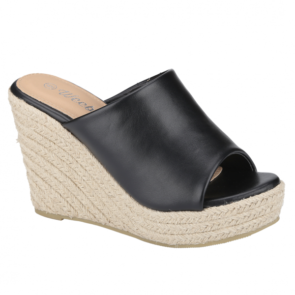 Chic Espadrille Wedges - Weeboo Shoes Emery-1 | Shoetopia